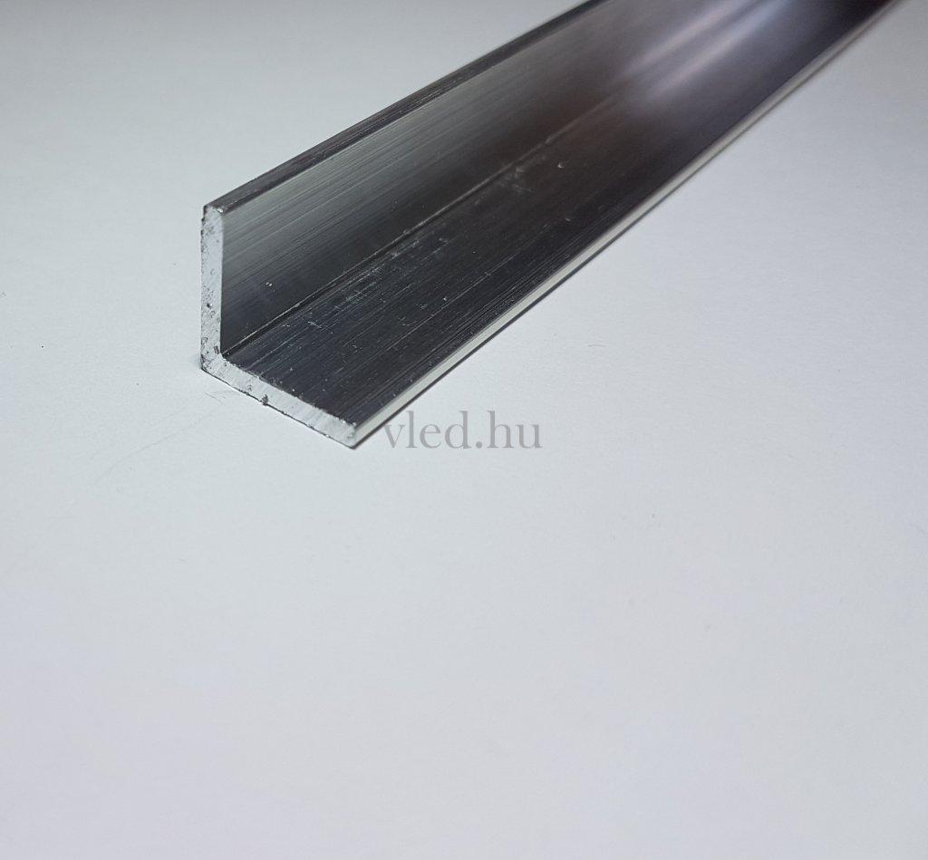 nat r alum nium l profil 15mm 15mm led szalag be p t shez. Black Bedroom Furniture Sets. Home Design Ideas