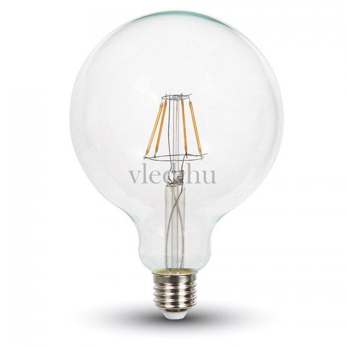 Retro LED gömb izzó 4W, dimmelhető, E27, meleg fehér (VT-4399)