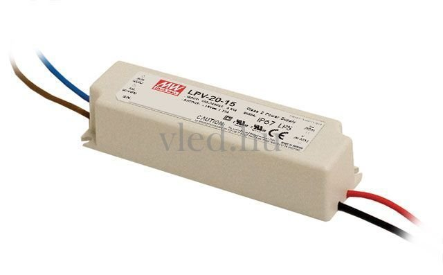Mean Well LPV-20-12 20W/12V/0-1,67A