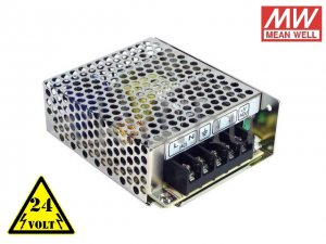 24V Mean Well LRS-50-24 50W/24V/0-2,2A