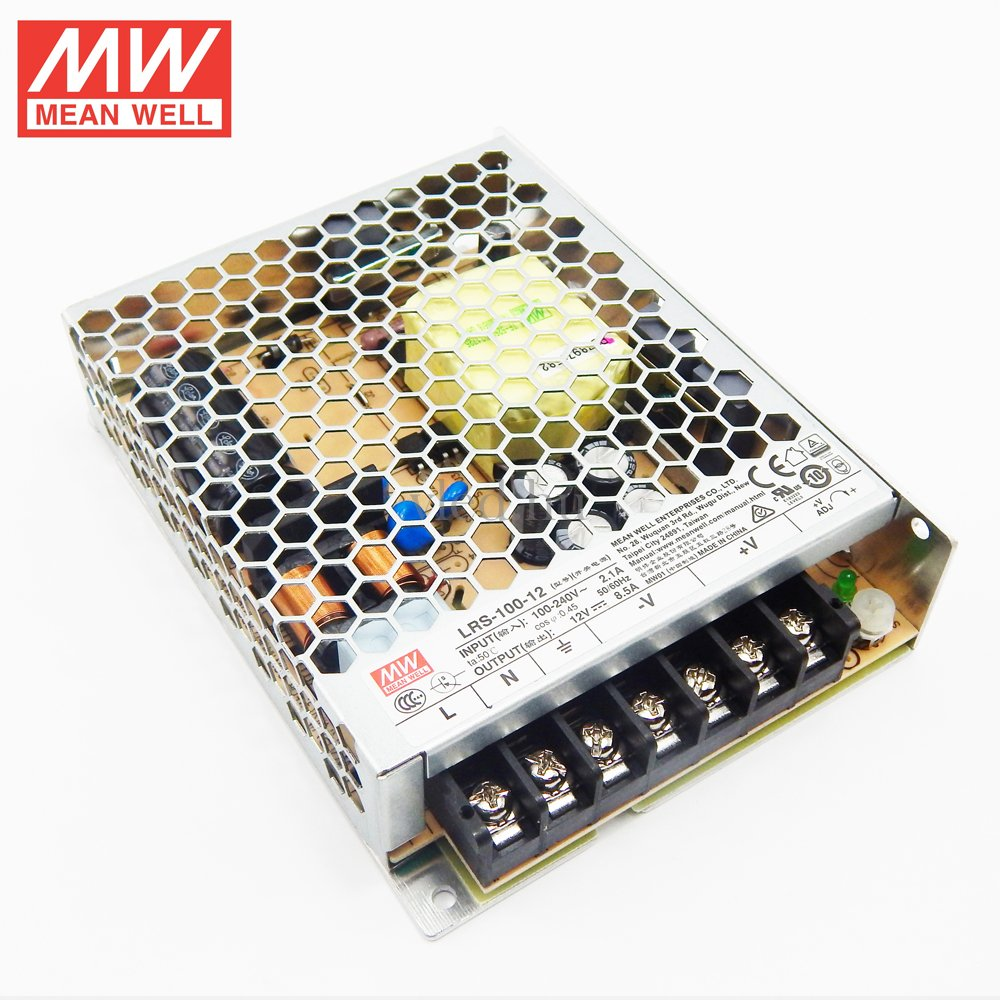 Mean Well LRS-100-12 100W/12V/0-8,5A