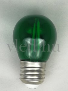 2W Filament G45 Dekor Led Izzó E27 Zöld (7411)?new=3